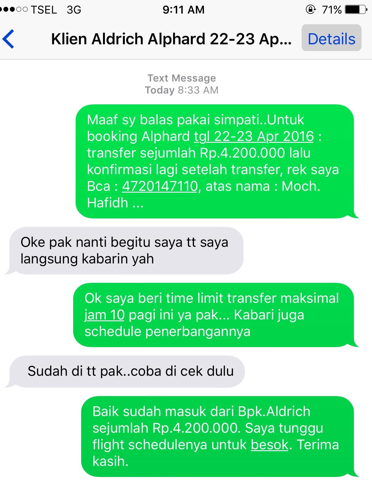 booking mobil alphard surabaya
